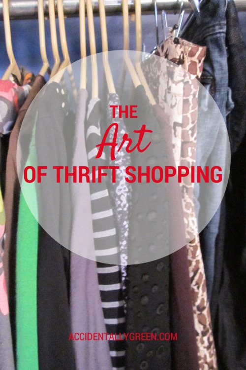 The Art of Thrift Shopping {AccidentallyGreen.com}