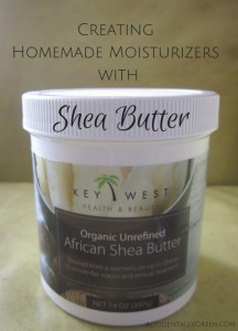 CreatingHomemade Moisturizers with Shea Butter {AccidentallyGreen.com}