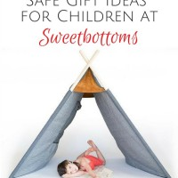 Finding Safe Gift Ideas for Children at Sweetbottoms {AccidentallyGreen.com}