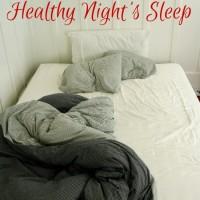 Get a Healthy Night's Sleep