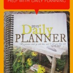 Homemaker's Friend Calendars Help with Daily Planning {AccidentallyGreen.com}