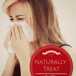 How I Naturally Treat Sniffles {AccidentallyGreen.com}