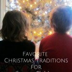 7 Favorite Christmas Traditions for Young Children {AccidentallyGreen.com}