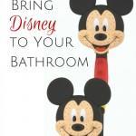 Bring Disney to Your Bathroom {AccidentallyGreen.com}