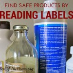 Find Safe Products By Reading Labels