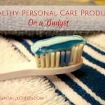 Healthy Personal Care Products On a Budget {AccidentallyGreen.com}