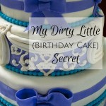 My Dirty Little (Birthday Cake) Secret {AccidentallyGreen.com}