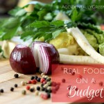 Real Food on a Budget {AccidentallyGreen.com}