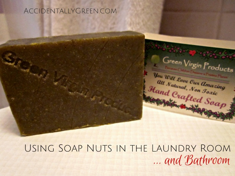 Using Soap Nuts in the Laundry Room ... and Bathroom {AccidentallyGreen.com}