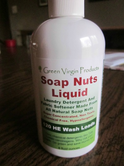Using Soap Nuts in the Laundry Room {AccidentallyGreen.com}