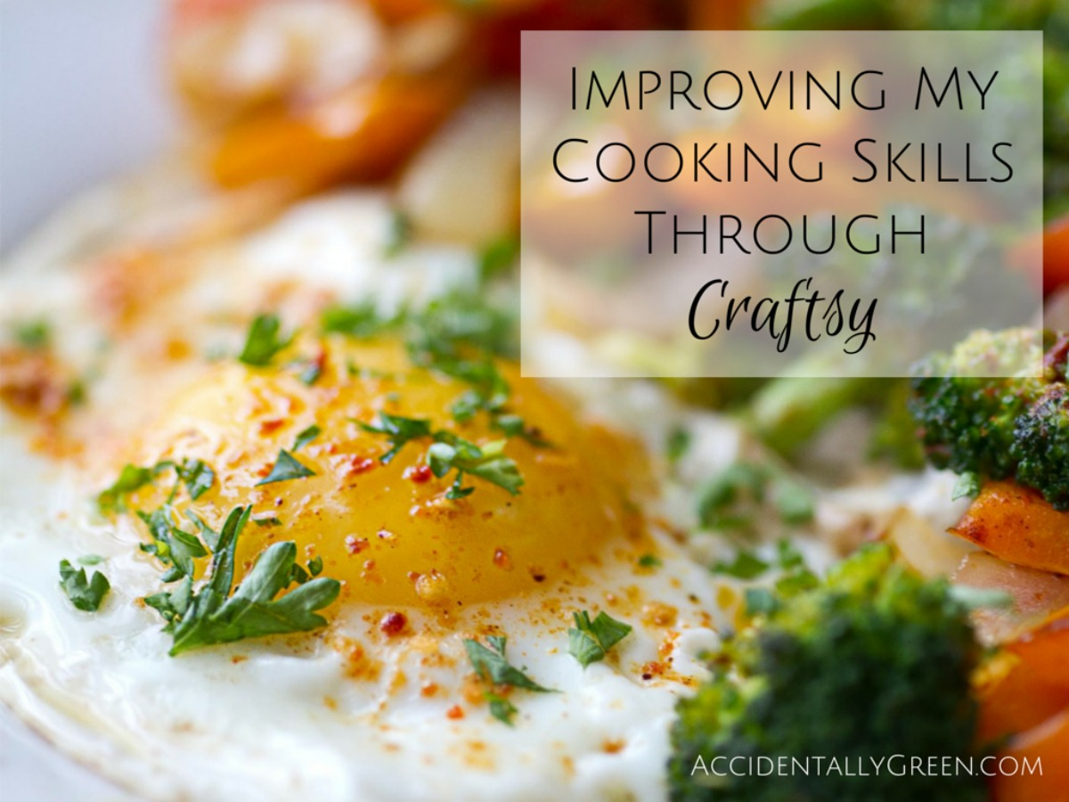 Since switching to a real food diet, I've learned a lot about food preparation over the past few years. I can cook confidently, even without following recipes. So when I recently took a Craftsy cooking course, I was surprised to learn a LOT.