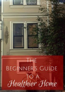 Realizing that you want and need a healthier home is a HUGE step. In fact, you can't really start making changes until you know you need to. Once you've made that step, though, then what? Where do you begin? And what do you do?