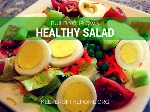 Salads are simple but flavorful meal ideas --- plus they can be very nutritious! Depending on the flavors and textures you prefer --- or the nutrients you'd like to consume --- you can build your own healthy salad.