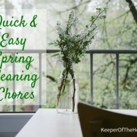 Quick & Easy Spring Cleaning Chores