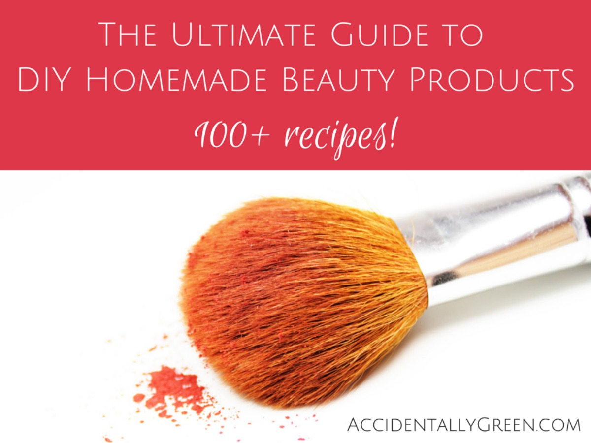 The ultimate guide to diy homemade beauty products 100 for Home made product for sale