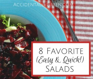 Looking for easy and quick salads this summer? Here are eight healthy and fresh favorites...