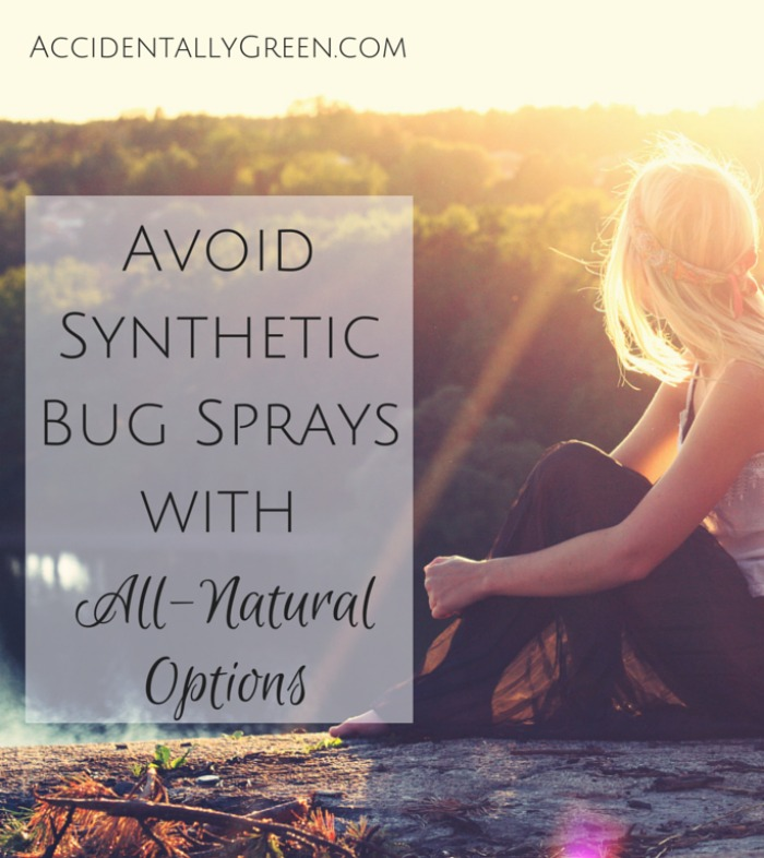 Insect repellents are necessary, but safe choices are hard to find. Instead of synthetic bug sprays, I like all-natural repellents.