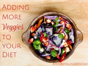 Adding More Veggies to your Diet