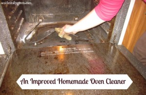 An Improved Homemade Oven Cleaner