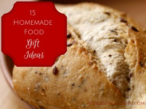 15 Homemade Food Gift Ideas